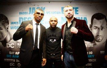 Lucian Bute a incheiat la egalitate meciul cu Badou Jack, pentru titlul mondial WBC