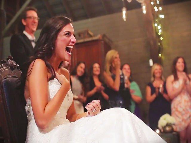 [VIDEO] Credea ca va avea parte de o nunta obisnuita. Dar mirele i-a pregatit o surpriza de neuitat
