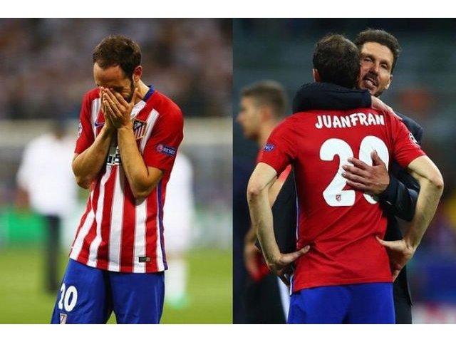 Scrisoarea emotionanta a fundasului Juanfran dedicata fanilor lui Atletico Madrid