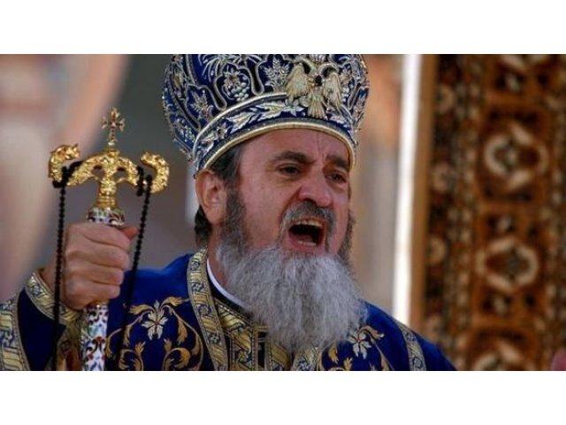 Mitropolitul Ardealului, Laurentiu Streza, audiat ca martor la DNA in dosarul privind cartile scrise in penitenciar