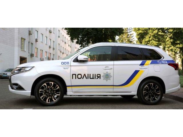 Politia din Ucraina devine eco: Flota de 651 masini Mitsubishi Outlander PHEV
