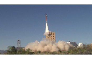 Israel a lansat trei rachete pentru a opri o drona, dar n-au reusit nici macar sa se apropie de tinta