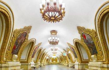 Frumusetea hipnotizanta a statiilor de metrou din Rusia