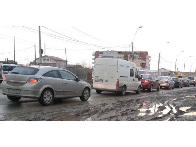 Protest: Soferi de la firme de transport din Brasov au blocat centura ocolitoare a orasului