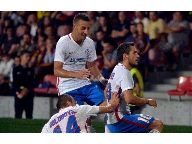 Viitorul - Steaua 1-3. A fost primul joc din Liga I pentru vicecampioana in acest sezon