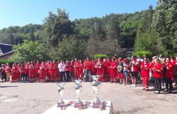 Voluntarii Crucii Rosii Romane s-au intrecut in salvarea de vieti la Poiana Pinului