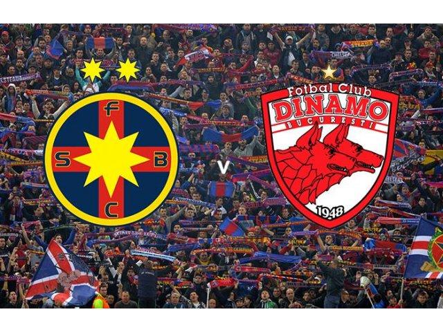 Steaua si Dinamo au incheiat la egalitate, scor 1-1, derbiul etapei a cincea a Ligii I