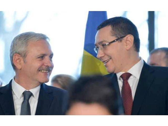 Dragnea i-a cerut lui Ponta sa se ocupe de partea financiara a programului de guvernare