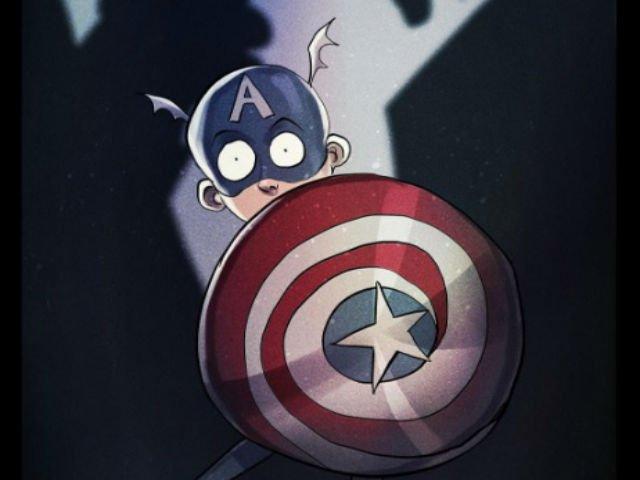 [FOTO] Cum ar fi aratat super-eroii daca ar fi fost creati de Tim Burton