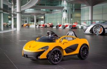 McLaren P1 electric, exclusiv pentru copii. Atinge viteza maxima in 2 secunde