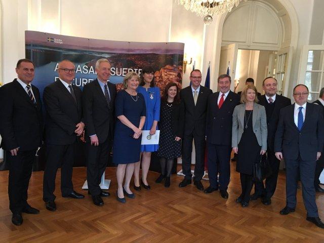 [VIDEO] Laura Codruta Kovesi a primit titlul de Comandor al Ordinului Steaua Polara