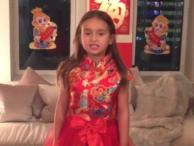 [VIDEO] La 5 ani, nepoata lui Donald Trump i-a cucerut pe chinezi cu o poezie recitata in mandarina
