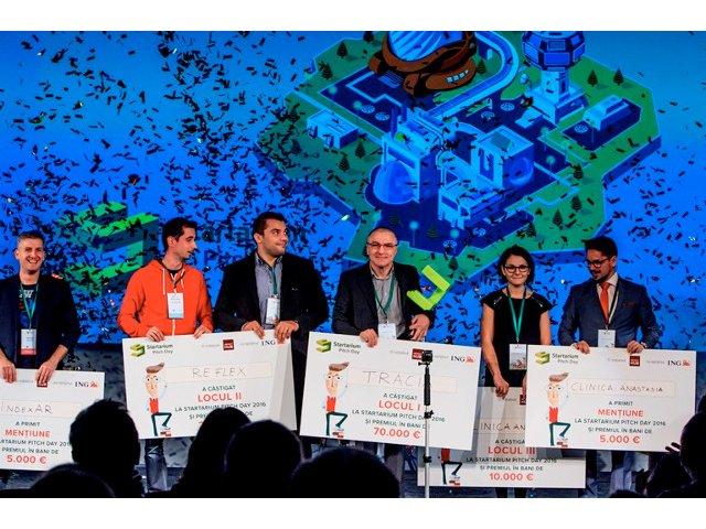 (P) Startup-ul romanesc Tracia a castigat Marele Premiu de 70.000 de Euro la Startarium Pitch Day