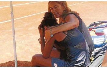 Tatal tenismenei Daniela Seguel a murit la finala turneului jucata de fiica sa
