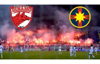 Dinamo a invins Steaua, scor 3-1, in derbiul etapei a XVIII-a a Ligii I