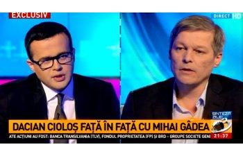 Ciolos la Antena 3: Minciuna ma deranjeaza, nu critica