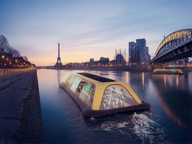 [FOTO] Sala de gimnastica plutitoare: navigheaza cu ajutorul energiei umane