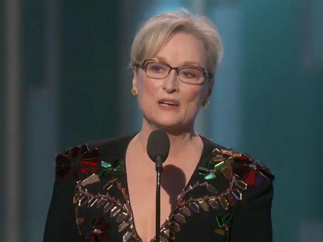[VIDEO] Meryl Streep l-a criticat dur pe Donald Trump la Globurile de Aur