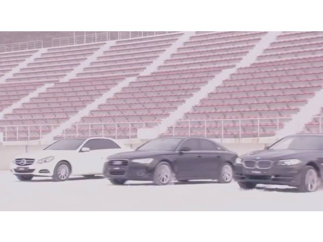 [VIDEO] Audi vs BMW vs Mercedes pe zapada. Cine castiga?