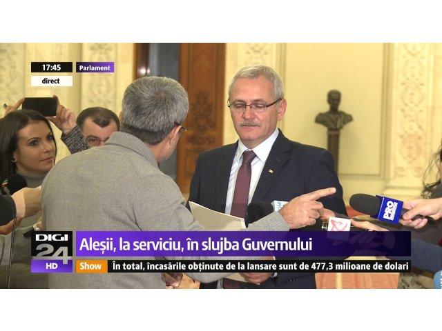 [VIDEO] Dragnea a fost mustrat pe holurile Parlamentului de Robert Turcescu