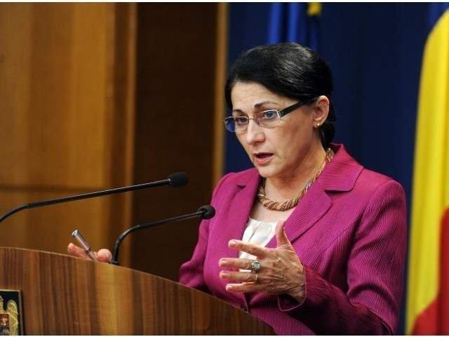 Ecaterina Andronescu: A fost o greseala aceasta ordonanta
