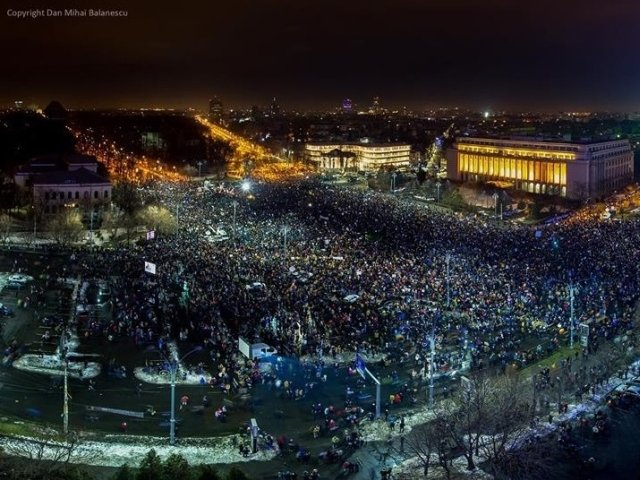 [Update] 600.000 de oameni au iesit in strada in a sasea zi de proteste