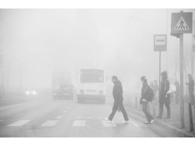 Cod galben de ceata in sase judete din vestul si nord estul tarii