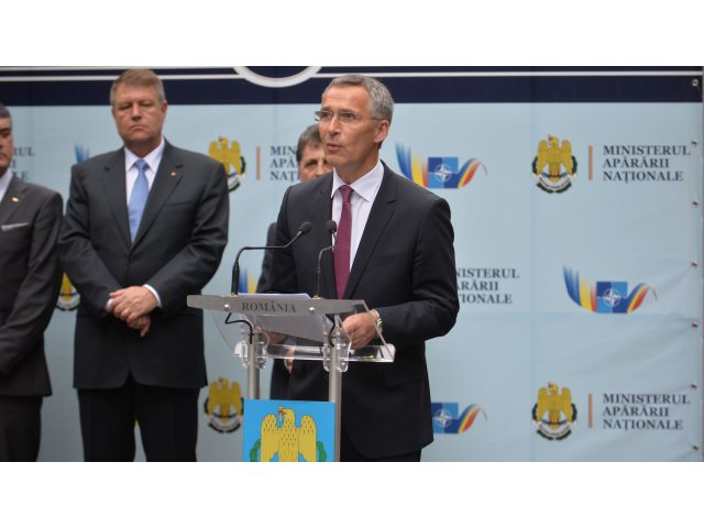 Jens Stoltenberg, secretarul general al NATO, felicita Romania si o da ca exemplu aliatilor