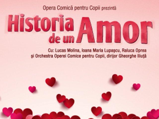 """Eveniment special de 8 martie la Opera Comica pentru Copii: """"Historia de un Amor"""""""