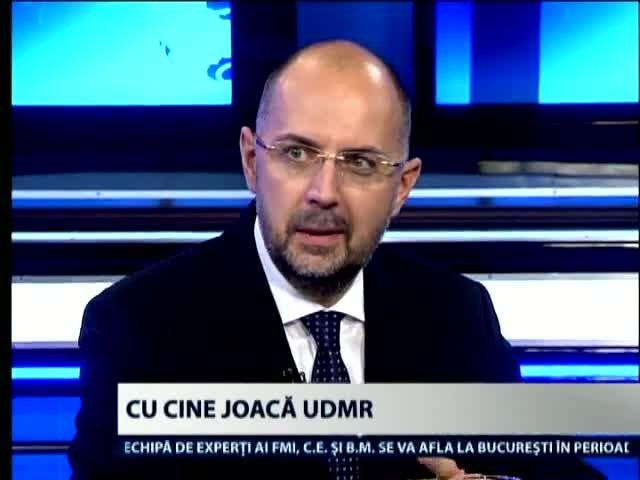 UDMR: In Romania nu se poate vorbi de stat de drept