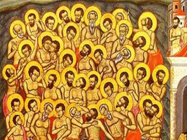 Interdictii de Sfintii 40 de Mucenici: Ce NU ai voie sa faci pe 9 martie