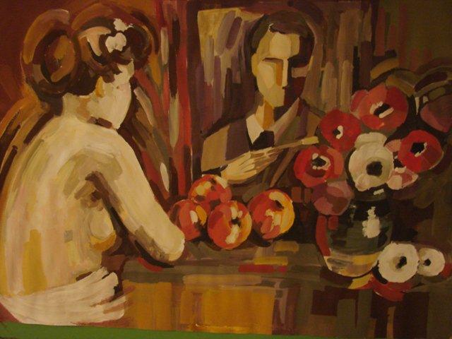 Doua tablouri de Stefan Luchian, evaluate la 3, respectiv 4 lei intr-un muzeu din Botosani