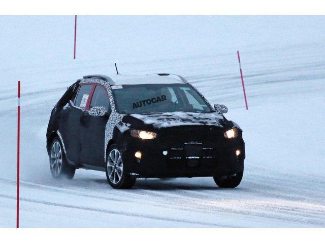Primele imagini cu noul SUV marca Kia