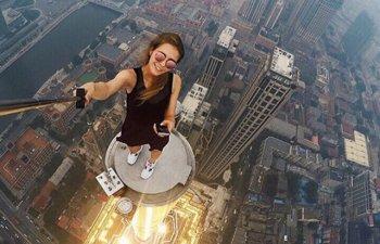 10 selfie-uri riscante ce-ti vor provoca palpitatii