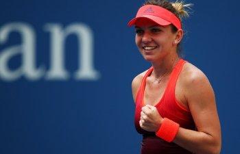 Simona Halep leaga pentru prima data in acest an doua victorii. Succes lejer cu Anett Kontaveit, scor 6-3, 6-0