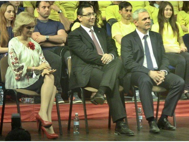 Firea, despre scandalul Ponta-Dragnea: Victor are o anumita neliniste... A fost copilul rasfatat al PSD