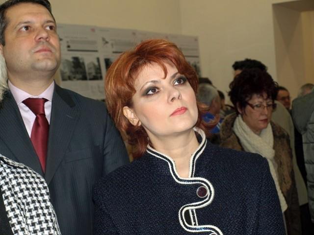 Olguta Vasilescu: Legea salarizarii s-a lucrat 80% la partid. A fost o secretomanie