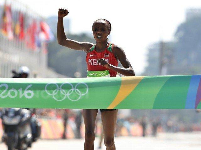 Jemima Sumgong, campioana olimpica la maraton, depistata pozitiv la un control antidoping