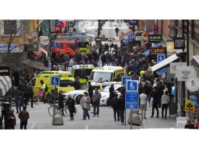 Camionul implicat in atac apartine companiei de bere Spendrups si a fost furat vineri din Stockholm
