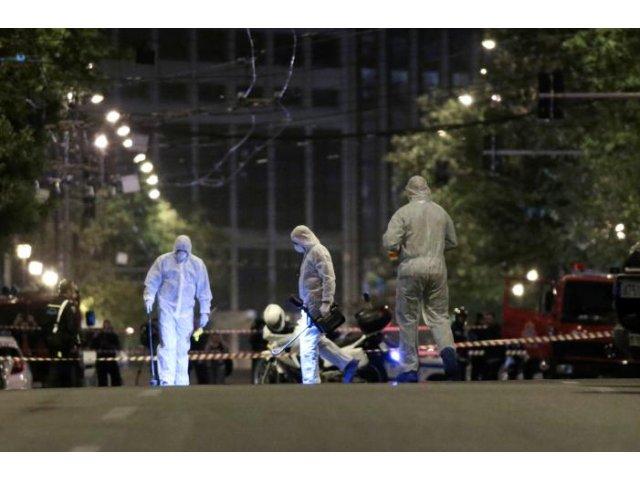 Atentat cu bomba la o banca din Atena