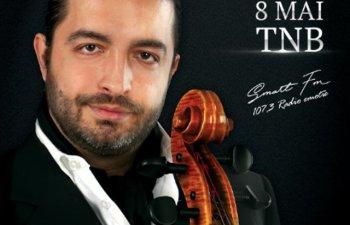Adrian Naidin revine pe 8 mai cu un nou concert,  la Sala Mare a Teatrului National Bucuresti
