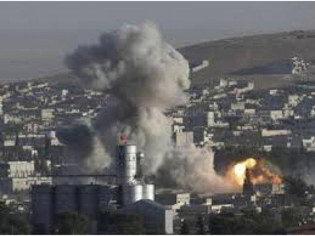 VIDEO. Un nou atentat in Siria, filmat cu drona