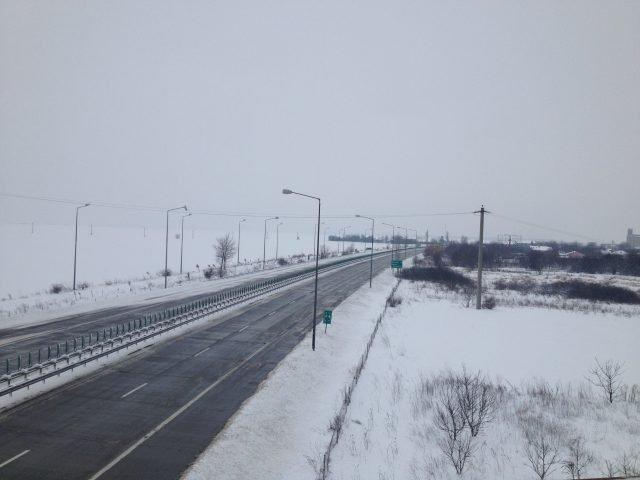 [UPDATE] Circulatia pe cinci drumuri nationale este intrerupta si porturile de la Marea Neagra au fost inchise