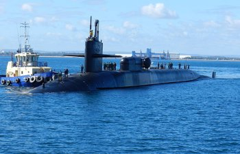 Submarin nuclear american, in Peninsula Coreeana