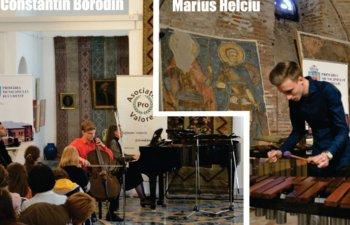 Constantin Borodin si  Marius Helciu, la Mogosoaia ClasicFest