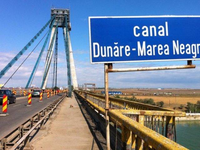 Traficul rutier pe podul de la Agigea este oprit pana in 25 mai
