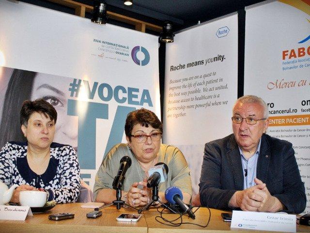 Federatia Asociatiilor Bolnavilor de Cancer anunta inscrierea Romaniei in Coalitia Internationala de Lupta Impotriva Cancerului Ovarian