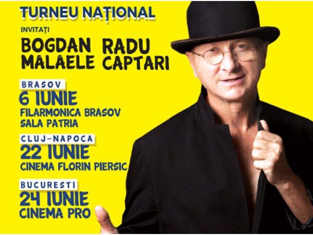 """Horatiu si Bogdan Malaele cuceresc publicul din Romania cu noul spectacol plin de umor: """"Editie Speciala"""""""