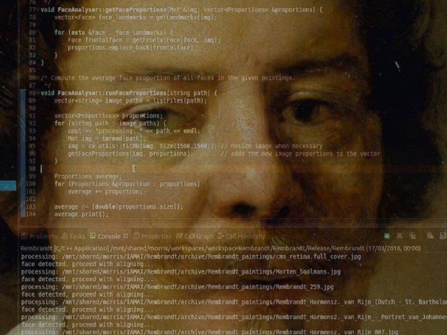 "Microsoft prezinta pentru prima data in Romania  proiectul de arta si tehnologie ""The Next Rembrandt"""