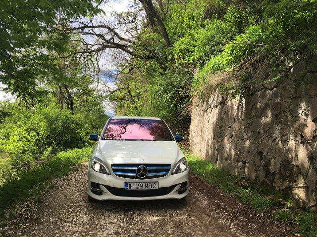 GALERIE FOTO. Aventura in viitor cu Mercedes-Benz B-Klasse 100% electric